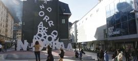 Andorra Telecom ha rebut nou propostes per fer la nova seu de la companyia a tocar de l'avinguda Meritxell.