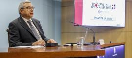 El director del Consell Regulador Andorrà del Joc, Xavier Bardina.