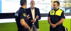 Jaume Bonell va presentar ahir la posada en marxa de la nova base de dades dels accidents de trànsit.