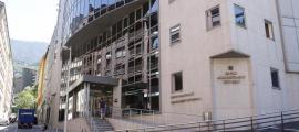 Les dependències de l'àrea Forense es troben a l'edifici de les Boïgues.