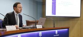El ministre d'Afers Socials, Justícia i Interior, Xavier Espot, va presentar ahir el projecte de llei qualificada de seguretat ciutadana.