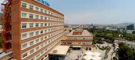Sis dels infants malalts de càncer van ser tractats a l'Hospital Sant Joan de Déu.