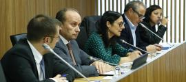 Josep Maria Rossell va exposar les prioritats de la legislatura davant la comissió legislativa de Justícia, Interior i Afers Institucionals.