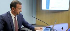 El ministre d'Ordenament Territorial, Jordi Torres, va presentar la tercera edició del Pressupost Participatiu.