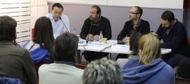 El debat organitzat pel PIJ d'Encamp en les eleccions comunals del 2015.
