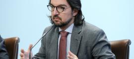 El secretari d'Estat d'Afers Europeus, Landry Riba, va detallar ahir el calendari de reunions previst per explicar l'acord amb la UE.