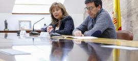 Conxita Marsol i Miquel Canturri van presentar ahir la planificació dels treballs.