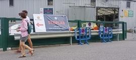 L''stop lab' de l'antiga plaça de braus, actiu a partir de demà.