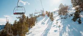 Les pistes d'esquí de Vallnord Pal Arinsal.