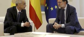Rajoy es compromet davant Martí a impulsar l'aeroport d'Andorra-la Seu