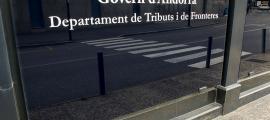 El departament de Tributs i Fronteres.