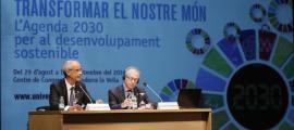Martí defensa la multilateralitat i el rol dels organismes internacionals