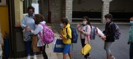 Els curs escolar començarà el 9 de setembre amb els alumnes de maternal i primera ensenyança.