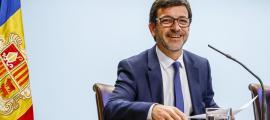El titular de Finances, Jordi Cinca.