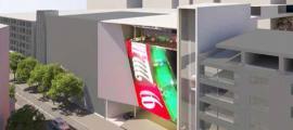Imatge del projecte que Jocs, SA vol construir al Prat de la Creu.