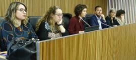 La ministra d'Afers Exteriors, Maria Ubach, va presentar ahir l'Informe d'acció exterior del 2018 davant la comissió legislativa.