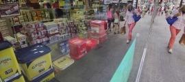 Paquets de tabac en un establiment comercial.