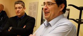 Francesc Tarroch i Ismael Hernando són el director i subdirector, respectivament, del centre penitenciari de la Comella.