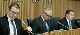 El gerent d'Andorra Turisme, Betim Budzaku, en una compareixença al Consell General.