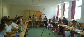 Un moment de la 32a Diada andorrana a l'UCE, dedicada a l'economia circular.