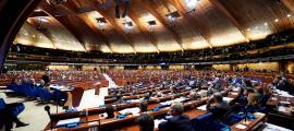 Un moment de la sessió d'hivern de l'Assemblea Parlamentària del Consell d'Europa de l'any passat.