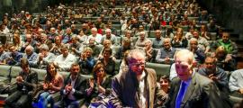 Terceravia va triar el Centre Cultural i de Congressos lauredià per fer el míting central de la campanya ahir a la nit.