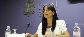 La subsíndica, Mònica Bonell.