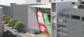 El projecte que Jocs, SA preveu construir a Prat de la Creu.