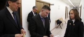Condemnat l'exmarit de Bruni a un any condicional pel segrest de la filla
