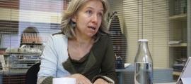 La presidenta d'Actua Empresa, Judit Hidalgo.
