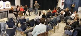 Reunió de poble celebrada ahir a la Massana.