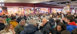 La darrera concentració en protesta per la problemàtica de l'habitatge a Andorra.