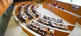 Una sessió anterior del Consell.