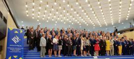Parlamentaris participants a la COSAC, celebrada del 17 al 19 de juny.