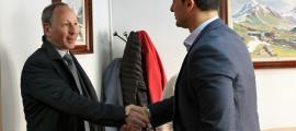 Jordi Gallardo amb Carles Ramos.