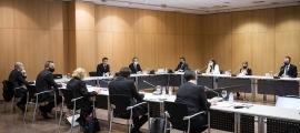 Un instant de la sessió de consell de comú d'aquesta tarda que s'ha celebrat al Centre de Congressos.