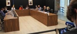 Un moment del Consell de Comú celebrat aquest dimarts.