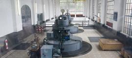 Els equips de la central hidroelèctrica de FEDA.