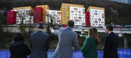 Espot i Marsol van signar ahir el protocol d'acord per construir habitatges a preu assequible.