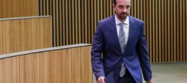 El titular d'Ordenament Territorial, Jordi Torres, en una sessió del Consell General.