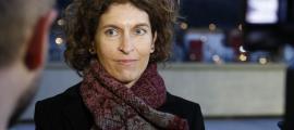 La ministra d'Afers Exteriors, Maria Ubach, va parlar ahir sobre les negociacions per l'acord d'associació amb la UE.
