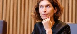La ministra d'Afers Exteriors, Maria Ubach, en una sessió al Consell General.
