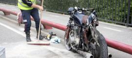 L'accident va succeïr el passat dilluns.
