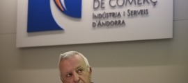 El president de la Cambra de Comerç, Miquel Armengol, en una compareixença anterior.
