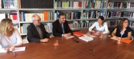 La reunió entre Vila i Ribó va servir per intercanviar experències entre les dues institucions.
