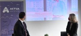 Gallardo i Hidalgo en la presentació de la segona edició del programa.