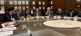 El president de la CEA, Gerard Cadena, en un moment de la trobada de Buenos Aires.