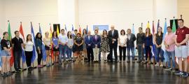 Els participants al Campus internacional per a joves iberoamericans Vall del Madriu-Perafita-Claror.
