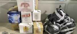 Tributs i Fronteres imposa sis multes per contraban de tabac.