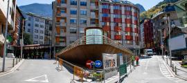 La presentació de les obres de remodelació de la plaça de les Pubilles va tenir lloc ahir al matí.
